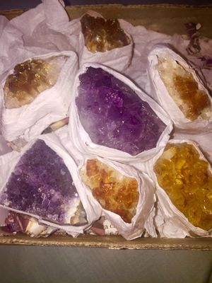 Amethyst/ Citrine Crystals for Sale in Detroit, MI