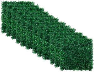 """12pcs Boxwood Panels - 20""""x20"""" Artificial Faux Hedge Plant for 33 SQ Feet Per Boxwood Hedge Set - Use for UV Protection Indoor Outdoor, Fence Privacy for Sale in Ontario, CA"""