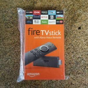 Fire TV stick with Alexa Voice Remote -New (never opened) for Sale in Valrico, FL