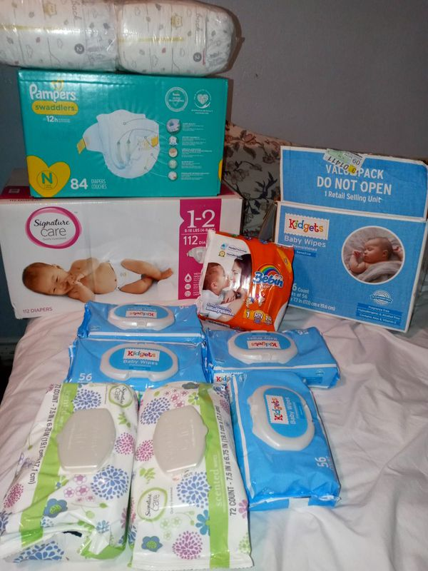 Pampers and wipes Deal