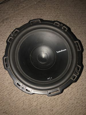 "12"" subwoofer, box, deck, Amplifier for Sale in Martinez, CA"