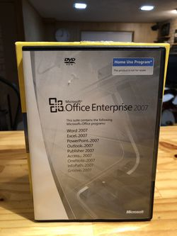 Microsoft office Enterprise 2007 for Sale in Monroeville,  PA