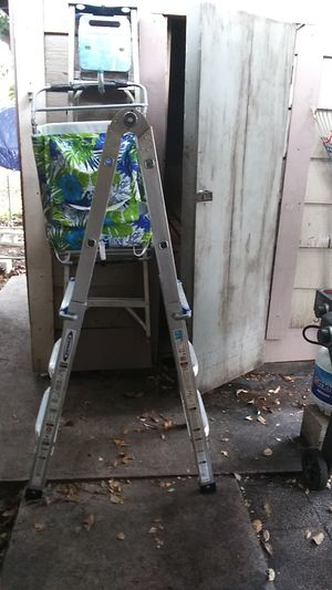 Folding ladder for Sale in Pompano Beach, FL