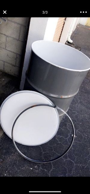 55 gallon open top with lock rim metal for Sale in Miami Shores, FL