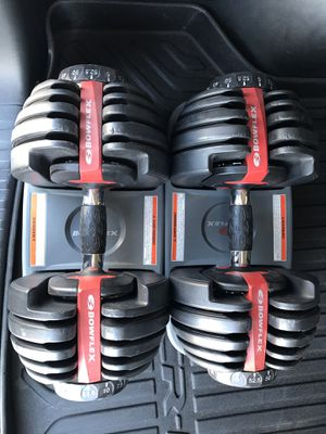Bowflex dumbbells 552 for Sale in Tempe, AZ