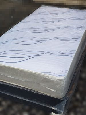NEW TWIN MATTRESS AND BOX SPRING, Bed frame is not included for Sale in Lake Worth, FL
