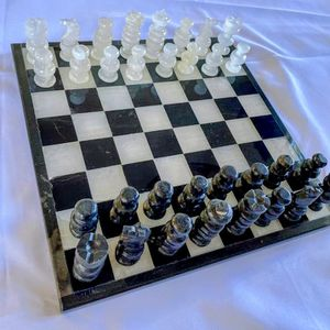 Chess Set Quarts And Onix Hand Made for Sale in Bonita, CA