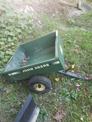 John deere dump trailer for Sale in Mogadore, OH