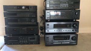 Lots Audio Equipment System Amp Cassette Deck for Sale in Glendale, AZ