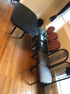 Home dining room table with 5 chairs for 100$ for Sale in Erie, PA