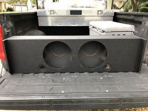 Rhino sealed subwoofer box for Sale in CORP CHRISTI, TX
