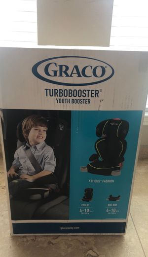 Grace turbo booster car seat for Sale in Houston, TX