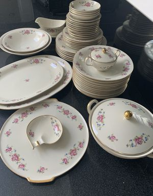 Antique luxury china set for Sale in GREAT NCK PLZ, NY