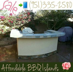 Asada bbq islands grill fireplace palapa construction raised bar for Sale in Riverside, CA