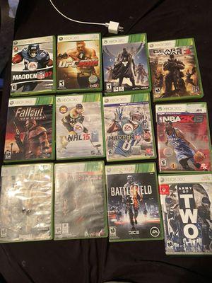 Xbox 360 games for Sale in Laurel Springs, NJ
