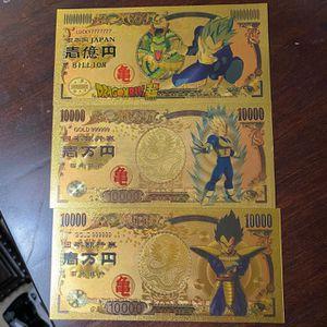 Vegeta Gold Bill Lot for Sale in McCalla, AL