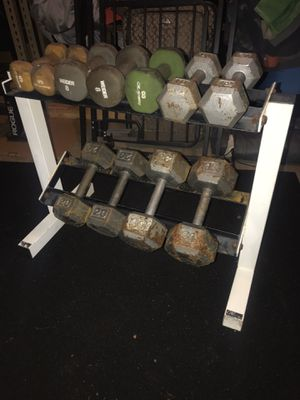 Dumbbells for Sale in Tracy, CA