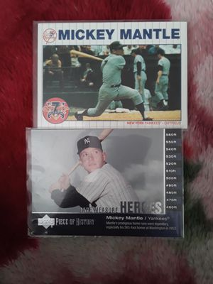 Mantle cards for Sale in San Jose, CA