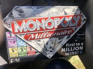 Monopoly Millionaire Edition Board Game for Sale in Mechanicsville, VA
