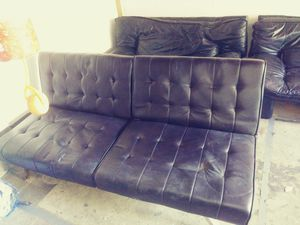 Sofa, love seat, futon for Sale in Beaverton, OR