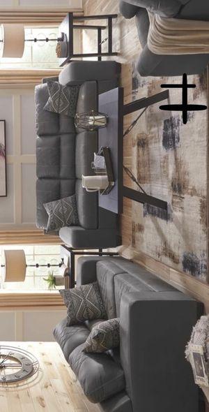 New Brand Narzole Dark Gray Living Room Set | 74401 , Best Offer for Sale in Houston, TX