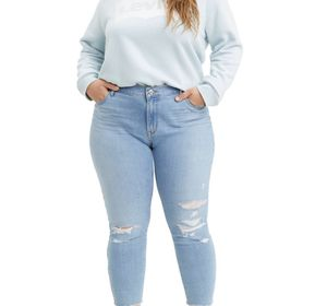 Levis 711 destruted ankle jeans size 30 for Sale in Frederick, MD
