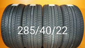 4 New tires 285/40/22 Llantas nuevas for Sale in Chula Vista, CA