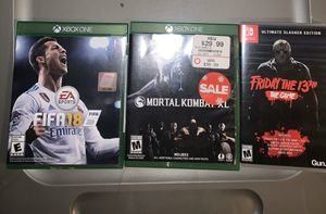 Xbox games and Switch for Sale in Lynwood, CA