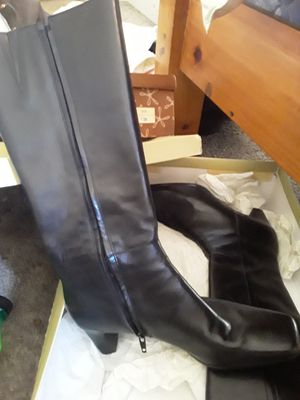 Boots brand new size nine square toe calf boots for Sale in Murfreesboro, TN