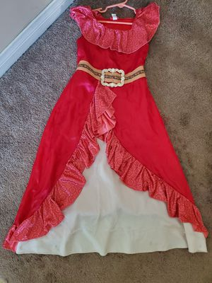 Elena of Avalor Dress (Kids Size 6/6X) for Sale in Los Angeles, CA
