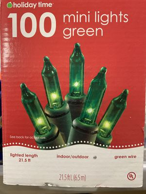 New blue, green, white Seahawks twinkle lights $3 each for Sale in Leavenworth, WA