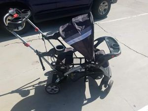 Baby trend sit n stand ultra stroller for 2, great for a baby and brother or sister for Sale in Bell Gardens, CA