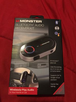 Monster Bluetooth Audio Receiver Kit for Sale in Fresno, CA