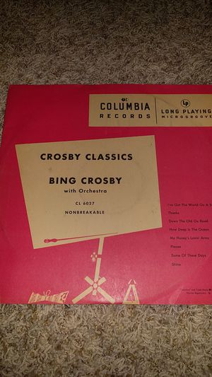 Bing Crosby - Crosby Classics 10in for Sale in Seattle, WA