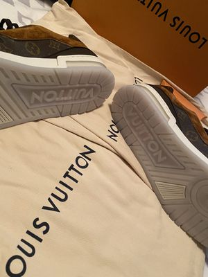 Louis Vuitton sneakers size 10 brand new with box extra laces and receipt for Sale in Phoenix, AZ