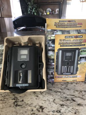 STEALTH CAMERA INFRARED DIGITAL VIDEO SCOUT GREAT FOR HUNTERS OR JUST FRONT OR BACK YARD CAN HIDE IT IN A TREE all U Hunters for Sale in Tacoma, WA