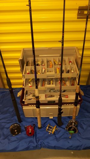 Fishing Rods Reels and Luers for Sale in Mesa, AZ