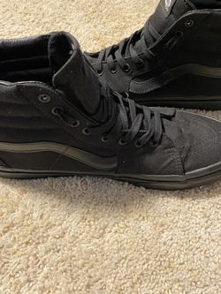 Vans High Top (black) for Sale in Lake Villa,  IL