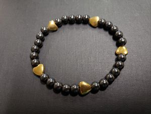***NATURAL STONE - Magnetic Hematite heart Bracelet (May help Blood Circulation, Kidney, Detoxification- see photo ) for Sale in Rancho Cucamonga, CA
