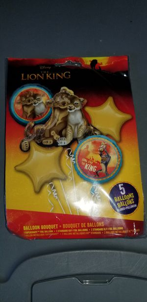 New the lion king mylar bouquet balloons for Sale in Lemon Grove, CA