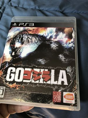 Godzilla PS3 in perfect condition for Sale in Norwalk, CA
