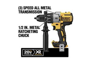 DEWALT 20-Volt MAX XR Lithium-Ion Cordless 1/2 in. Premium Brushless Hammer Drill (Tool-Only) for Sale in Pflugerville, TX