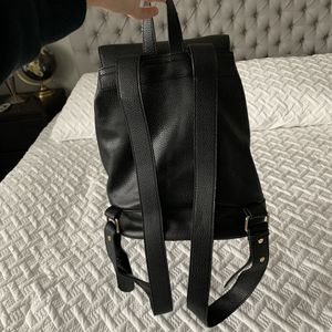 """F21 black mini """"leather"""" backpack for Sale in Vancouver, WA"""
