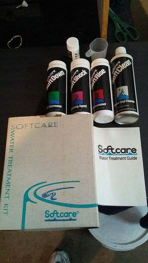 New, Hot tub water treatment and test kit SoftTub. for Sale in Vista, CA