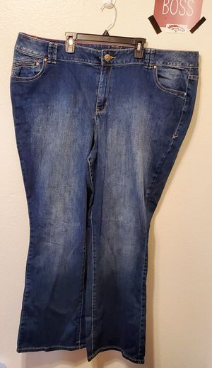 Lane Bryant plus size jeans boot cut size 24 for Sale in Denver, CO