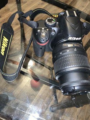 Nikon D3200 Digital Camera Kit w/ 2 Camera Lenses for Sale in Washington, PA
