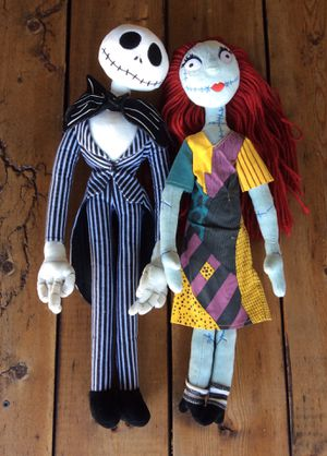 The Nightmare Before Christmas - Jack & Sally for Sale in Solana Beach, CA