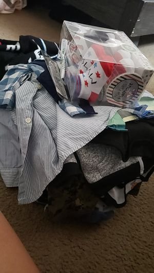 Free 0-3 month baby boy clothes for Sale in Edna, TX
