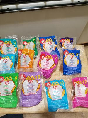 Beanie Babies 12 piece collection for Sale in New Baltimore, MI