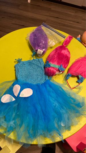 Toddler poppy costume for Sale in San Diego, CA